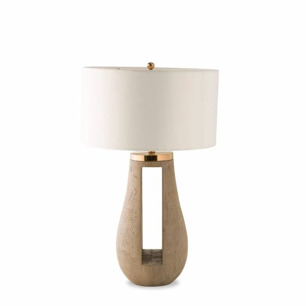 Gray Table Lamp | Rouse Home