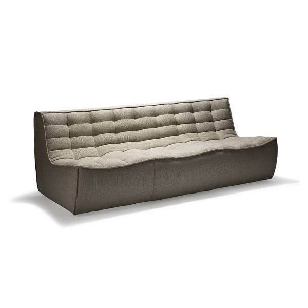 N701 3 Seater Sofa – Dark Beige | Rouse Home