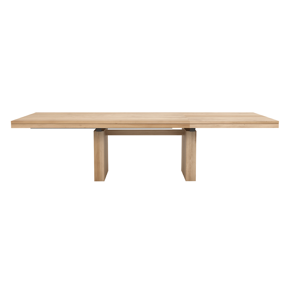 Double Extendable Dining Table – Teak | Rouse Home