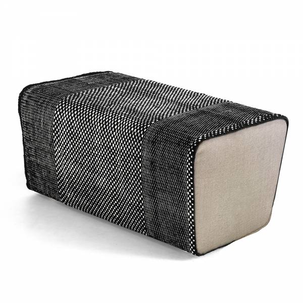 Tres Pouf – Black | Rouse Home