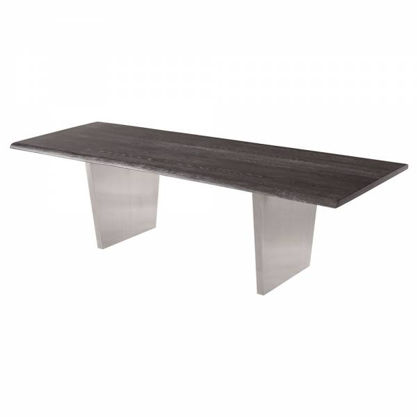 Aiden Dining Table – Gray Silver | Rouse Home