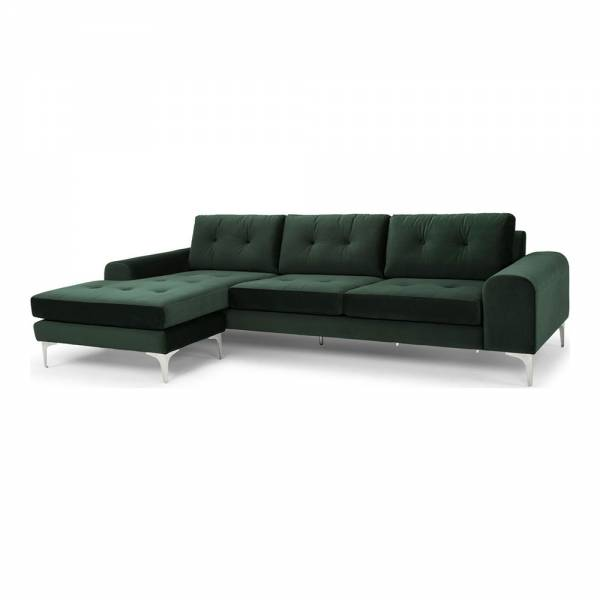 Colyn Sectional Sofa – Emerald Green | Rouse Home