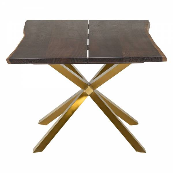 Couture Boule Dining Table – Gold | Rouse Home