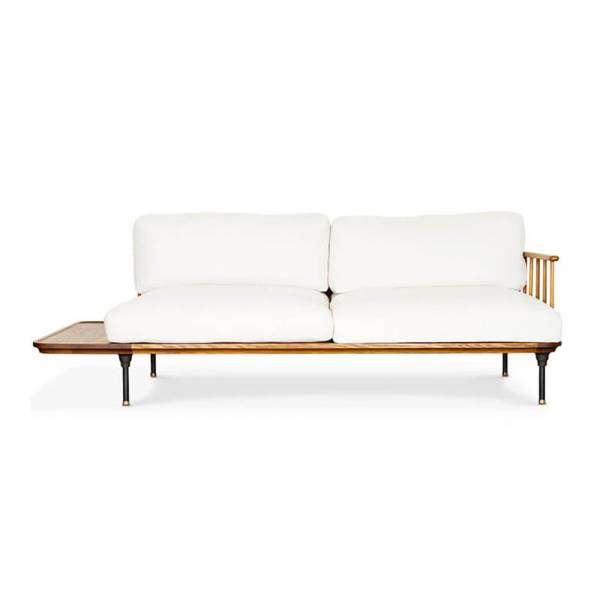 Distrikt Three Seat Sofa – Fumed Oak | Rouse Home