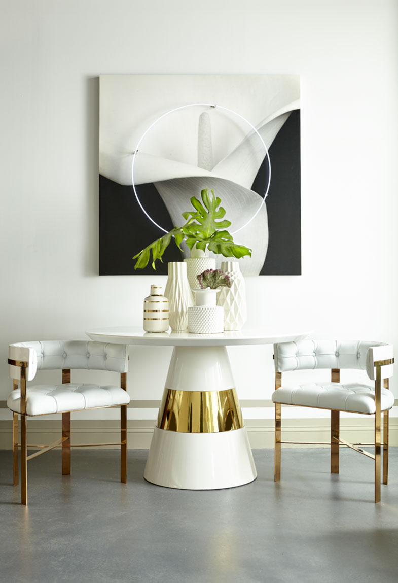 Kelly Hoppen Dining Table and Chairs | Rouse Home