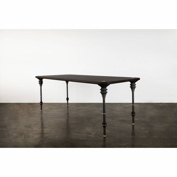 Kimbell Dining Table – Black | Rouse Home