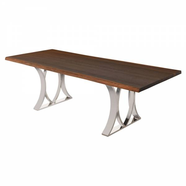 Mila Dining Table – Brown Silver | Rouse Home