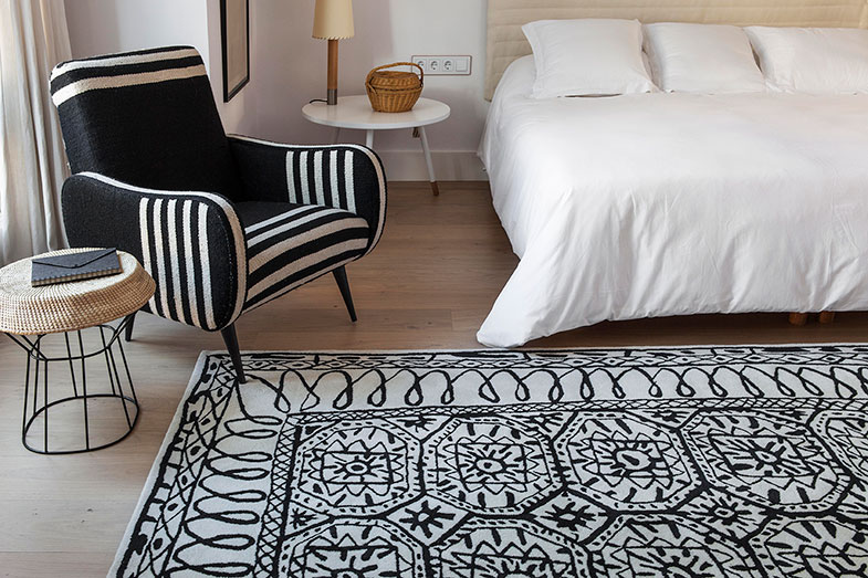 Nanimarquina Black and White Rugs | Rouse Home