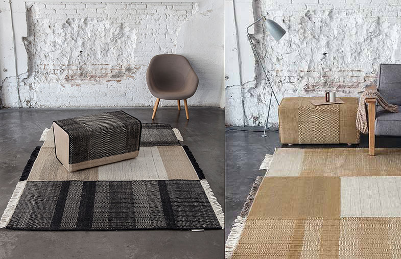 Nanimarquina Hand Loomed Wool Felt and Cotton Rugs | Rouse Home