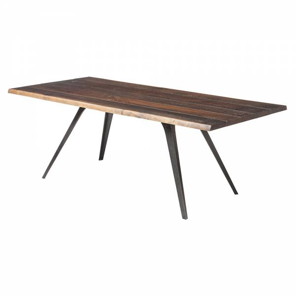Vega Dining Table – Seared Wood Black | Rouse Home