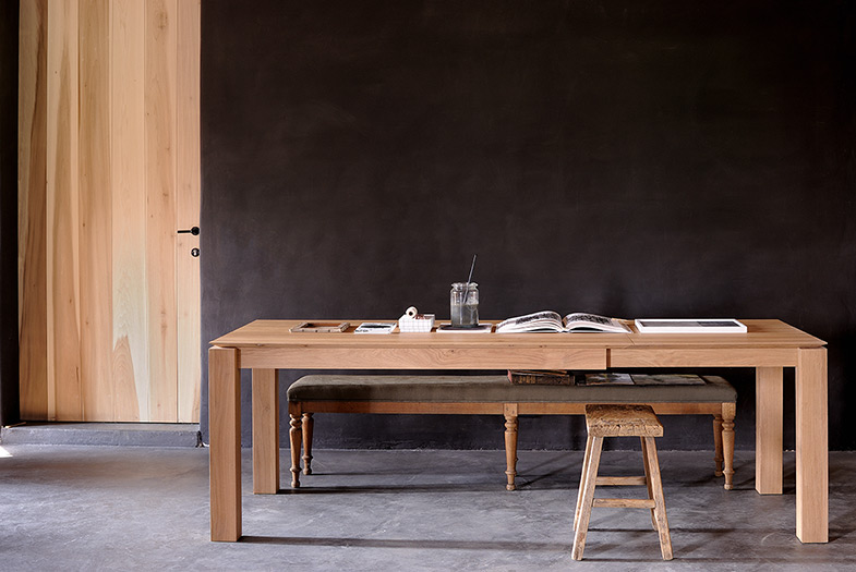 Extendable Wood Dining Table | Rouse Home