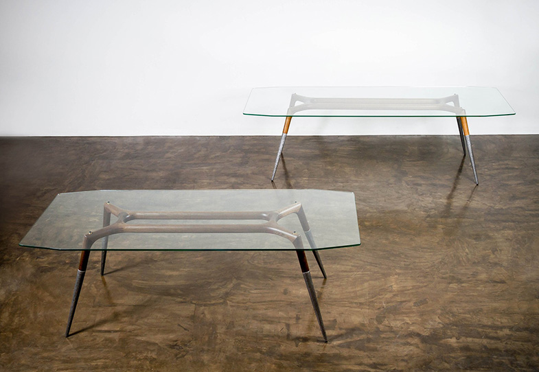Glass Top Rectangular Dining Table | Rouse Home